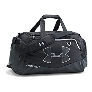 Under Armour Storm Undeniable II Duffle, Medium, Black/Black/White