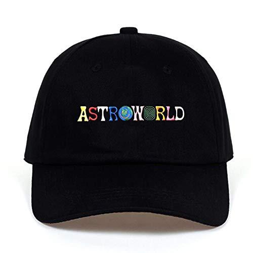 野球帽 ユニセックス コットン 刺繍,ブラック