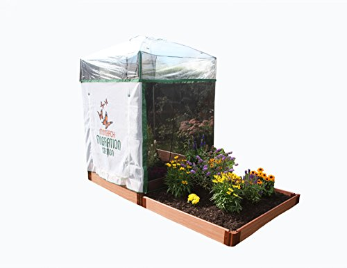 Frame It All One Inch Series 4' x 8' Pro Butterfly Pollinator Build Cold Frame