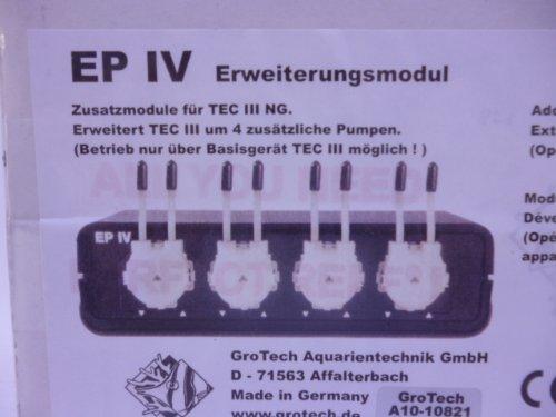 Grotech EP IV + 4 Pumpen