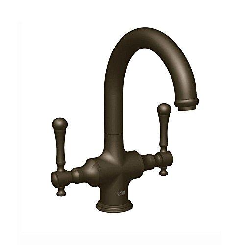 Grohe bridgeford 2 handle bridge kitchen faucet - Grohe kitchen faucets amazon ...