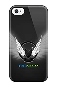 8264343K73655837 Tough Iphone Case Cover/ Case For Iphone 4/4s(logo)