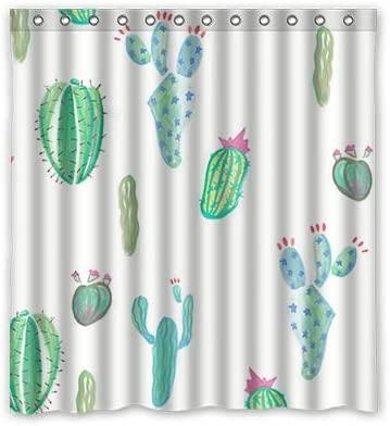 Dalliy Personal Custom Cactus de Plantas Verdes Disfraz Cortina de ...