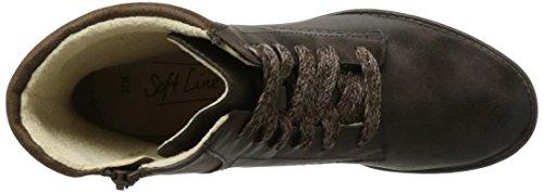 25261 304 Marrone Boots Softline Da Donna Combat mocca UqF0wZa