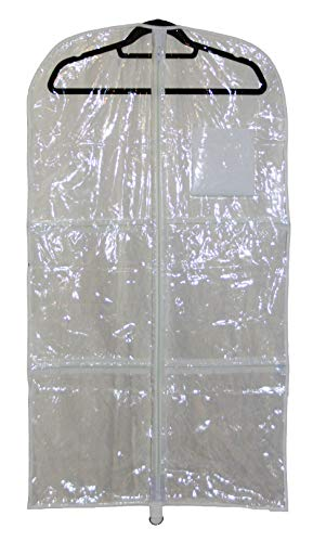 Garment bag with zippered pockets for dance competitions, costumes, dresses (Ideas Competition Name Christmas)