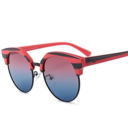 de lunettes plein personnalité en Qinddoo La lunettes des T96 Sunglasses air soleil de polarisées femmes soleil Fashion qw0tv601