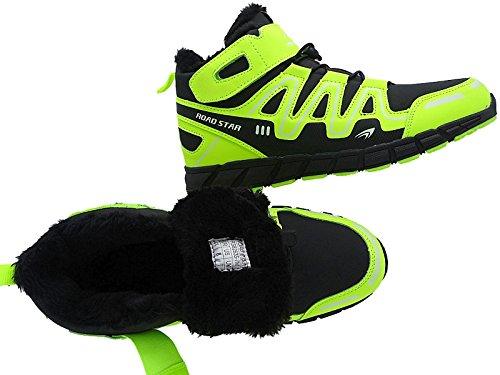 Herren Warmfutter Stiefel Sneaker Schuhe Sportschuhe Gr.47