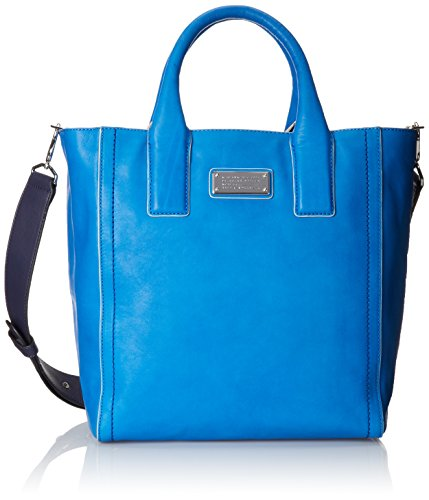 Marc by Marc Jacobs Mility Utility Tote Shoulder Bag Electric Blue Lemonade Multi One Size