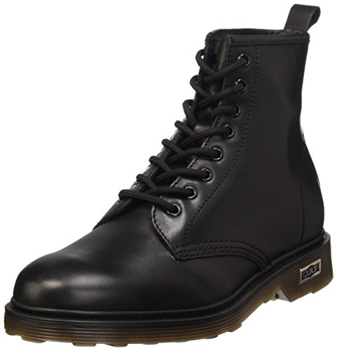 Cult Ozzy Mid 416 Leather, Stivali, Uomo Nero (Black 999)