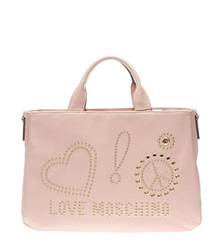 Love Moschino Donna Borse a mano JC4096PP15LM0600 BORSA CALF PU ROSA Rosa