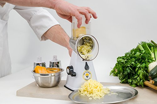 Nut Grater - Premium nut chopper veggie slicer cheese shredder Vegetable Slicer Rotary Cheese Grater vegetable slicer nut grinder Rotary Mandoline Vegetable Shredder Rotary Grater Cabbage Shredder Veggie cutter