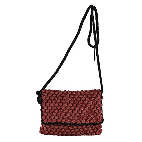 Sac d'embrayage, Joan Rouge, coton