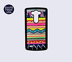 LG G3 Case - Colorful Tribal Aztec Drawing iPhone Cover