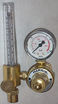 Harris 601-AR-580 Argon Flowmeter Regulator Mig Tig Welding Ar/CO2 Shielding Gas