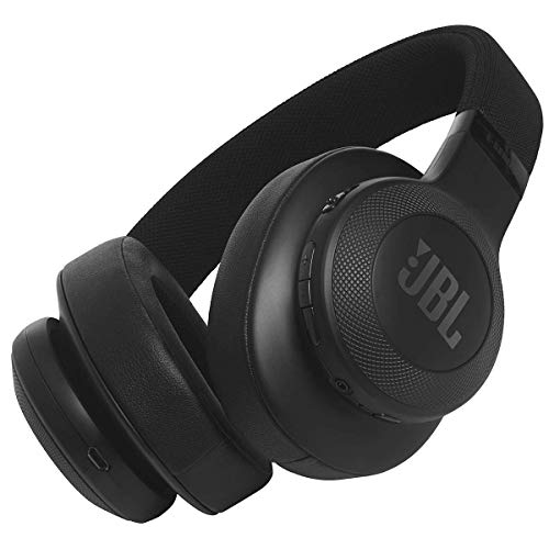 JBL JBLE55BTBLK Harman E55 Bluetooth Over-Ear Headphone – Black