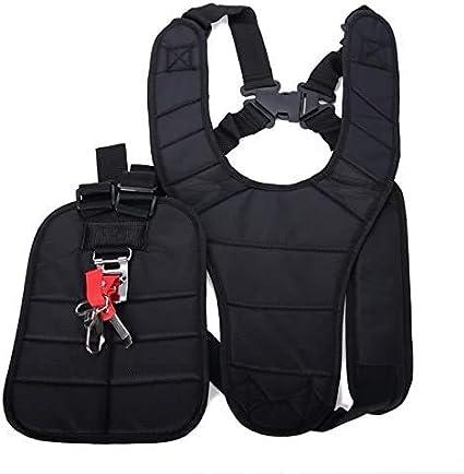 Strimmer Padded Belt Double Shoulder Strap Harness for Brush Cutter Trimmer Kit