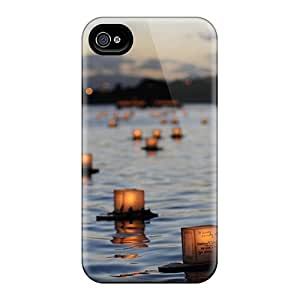 Case With Nice Appearance (river Candles Landscape) For HTC One M9 Case Cover