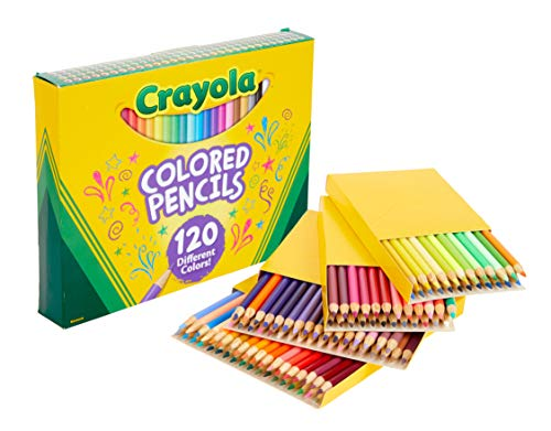 Pre-sharpened Assorted Colors Bulk Crayola Colored Pencils 12 Each Pack of 24