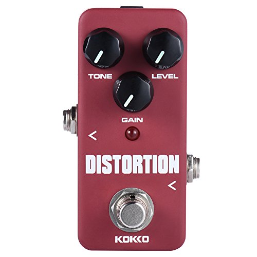 ammoon KOKKO Electric Guitar Effect Pedal True Bypass Full Metal Shell (Distortion) by ammoon