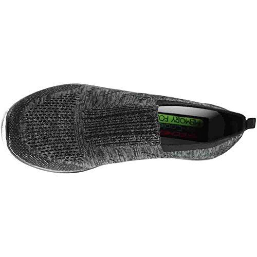 Skechers Empire Inside Look Mujer US 8 Negro Zapatos para Caminar