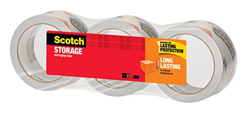 051131853485 - Scotch Long Lasting Storage Packaging Tape, 1.88 Inches x 54.6 Yards, 3 Rolls (3650-3) carousel main 2
