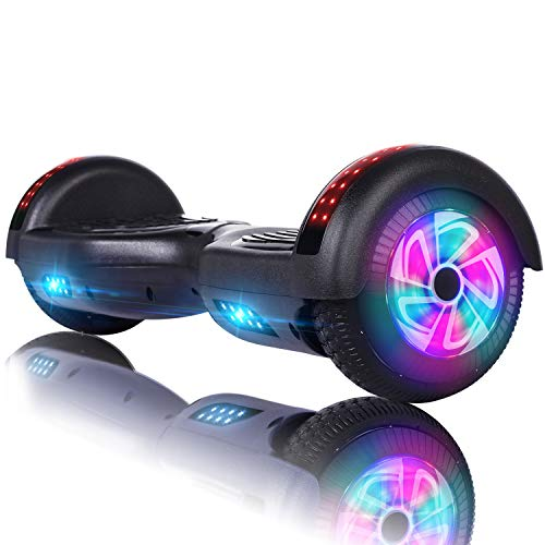 VEVELINE Hoverboard UL2272 Certified 6.5 inch Self Balancing Hoverboards, Hover Board for Kids w Bluetooth Speaker