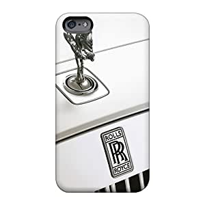 Protector Hard Phone Case For Apple Iphone 6s Plus (cNW754QMza) Allow Personal Design Nice Rolls Royce Logo Series
