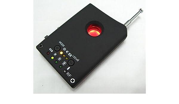 Cámara espía GSM WishRing Bugs 1 mhz-6.5Ghz (negro): Amazon.es: Deportes y aire libre