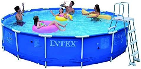 Intex Metal Frame Set - Piscina Desmontable Tubular, 457 x 91 cm ...