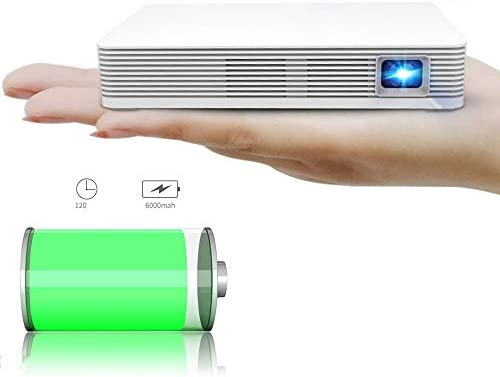 Proyector casero, Smart Android WiFi Bluetooth Portable Video Beam ...