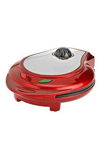 Kalorik Heart Shaped Waffle Maker, Red, 1 ea