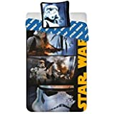 Parure de lit Star Wars - Housse de couette réversible lit 1 personne
