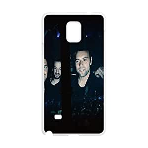Samsung Galaxy Note 4 Cell Phone Case White hc72 swedish house mafia dj music B2N2VX