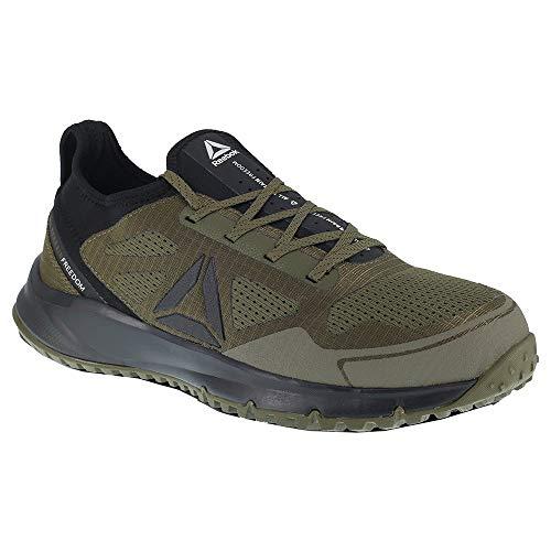 Reebok All Terrain Work Shoe Men's Trail Running 16 Sage-Black ()