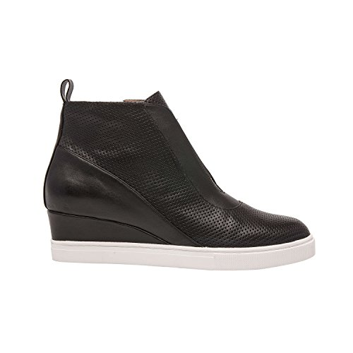 Linea Paolo - Anna - Low Heel Designer Platform Wedge Sneaker Bootie Comfortable Fashion Ankle Boot