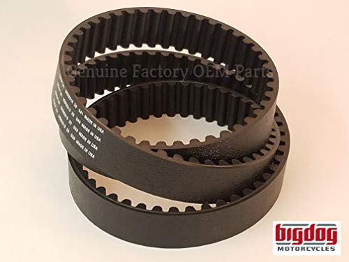 Big Dog Motorcycles Primary Drive Belt (2000-04) Chopper, Mastiff, Bulldog, -
