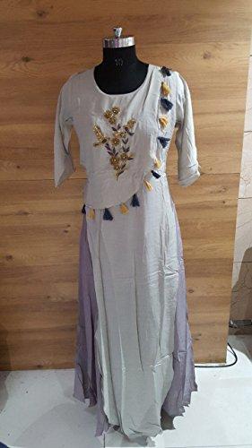Casual Anarkali Suit Maßanfertigung Custom to Measure Europe size 32 to 44 Ceremony Party Wear Straight Salwar Suit Women Designer Kleid Zeremonie Kleid Material Partei tragen indische Hochzeit Braut 4DsUcJec