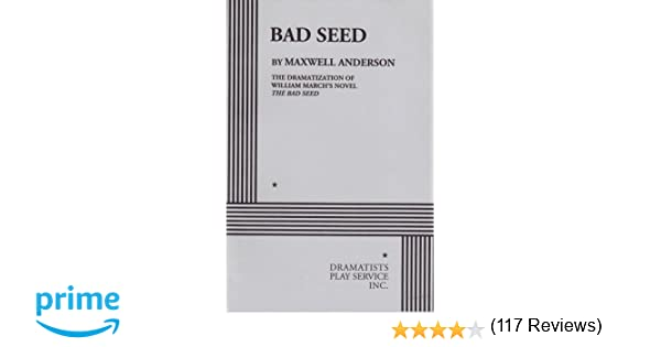 Amazon.com: Bad Seed (9780822200888): from William March's novel ...