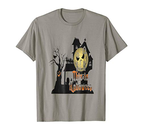 THIS IS HALLOWEEN - HOUSE SCARY MOON costume tshirt