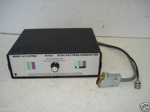 SENCORE NT64 NTSC PATTERN - Pattern Ntsc Generator