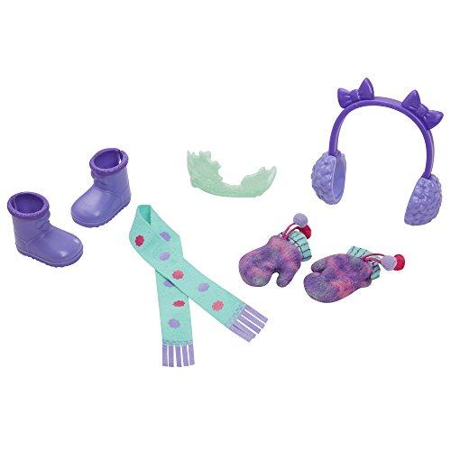 Fancy Nancy Winter Wonderland Doll Accessories, Purple/Blue -