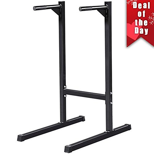 Yaheetech 500lb Commercial Tricep Dip Station/Dip Bar/Dip Stand/Dip Machine/Power Tower