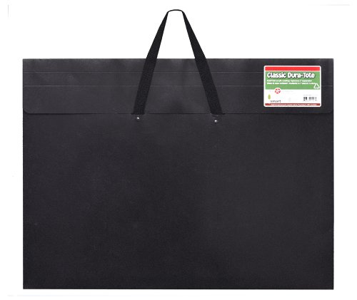 (Star Products 23-Inch by 31-Inch by 2-Inch Dura Tote Classic Black Poly Portfolio)