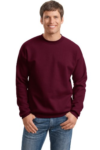 Hanes Adult Ultimate Cotton® Crew Neck - Maroon - L