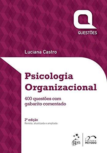 Questões. Psicologia Organizacional