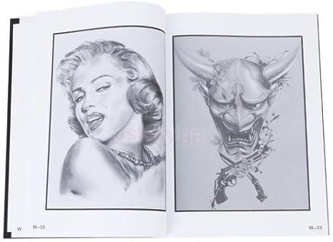 Datconshop Tm A4 Tattoo Manuscripts Reference Book Flash Design Sketch Body Art Supplies Amazon Co Uk Hi Fi Speakers