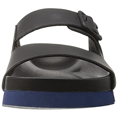 885480a4a02b A X Armani Exchange Men s Armani Exchange Double Buckle Slide Sandal 50%OFF