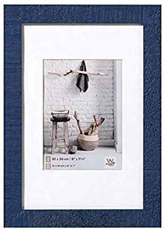 Walther Home, Marco de fotos, Madera, Azul, 30x40 cm: Amazon.es: Hogar