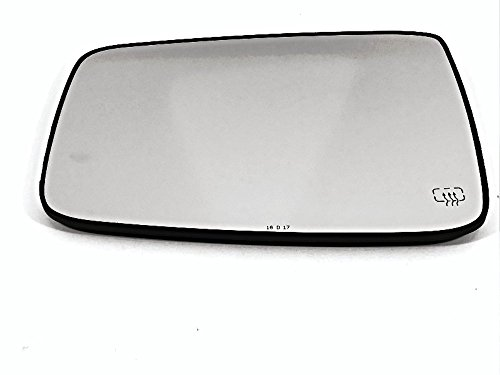 Left Driver Heated Mirror Glass w/Rear Holder for 09-17 Ram 1500, 10-17 2500, 3500 OE
