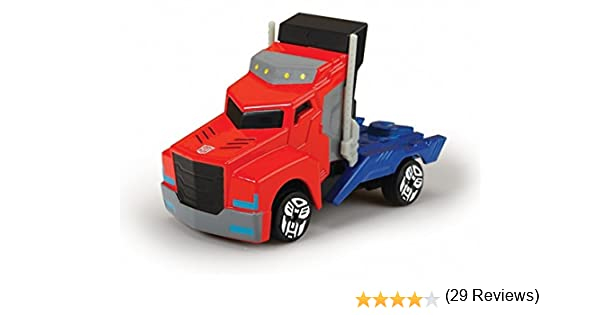 Transformers - Camion Optimus, Color Rojo /Azul, 23 cm (Dickie 3116003): Amazon.es: Juguetes y juegos